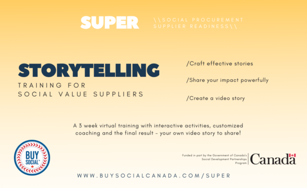 A three week virtual training with interactive activities, customized coaching and the final result - your own video story to share!